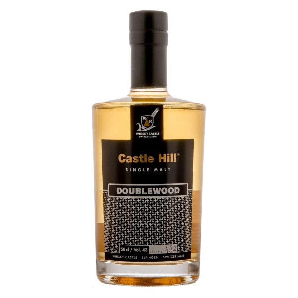 Ruedi Käser Castle Hill Single Malt Double Wood Whisky 0,5l
