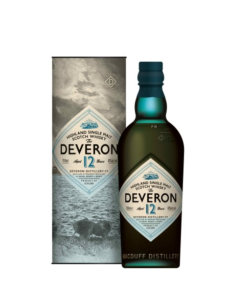 The Deveron Single Malt Whisky, 12 Years old, Dest. Macduff