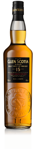 Glen Scotia 15 Jahre American Oak - Single Malt Scotch Whisky - 46% Vol. - 0,7 l