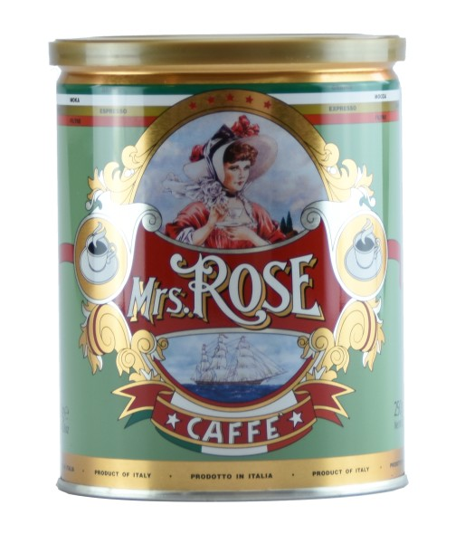 Mrs. Rose Kaffee Espresso-Mahlung, 250 g-Dose, Mrs. Rose, Venetien
