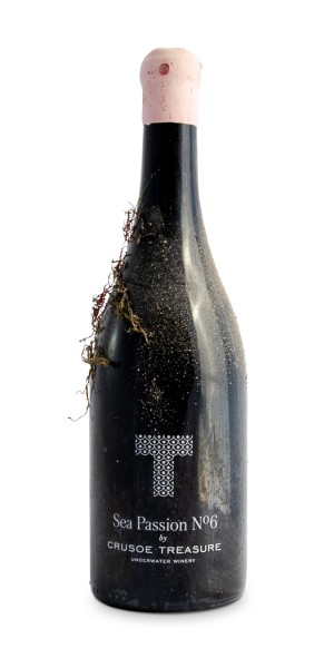 Unterwasser-Wein - Sea Passion No. 6 Vino Submarino Tempranillo & Maturana, Crusoe Treasure
