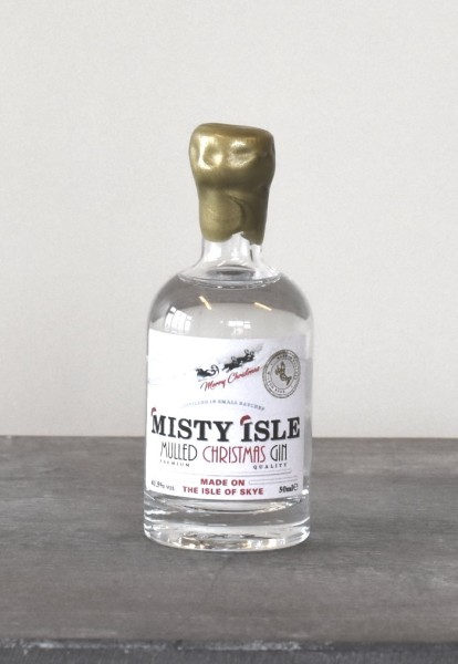 Isle of Skye - Misty Isle Mulled Christmas Gin 41,5% Vol. 50ml