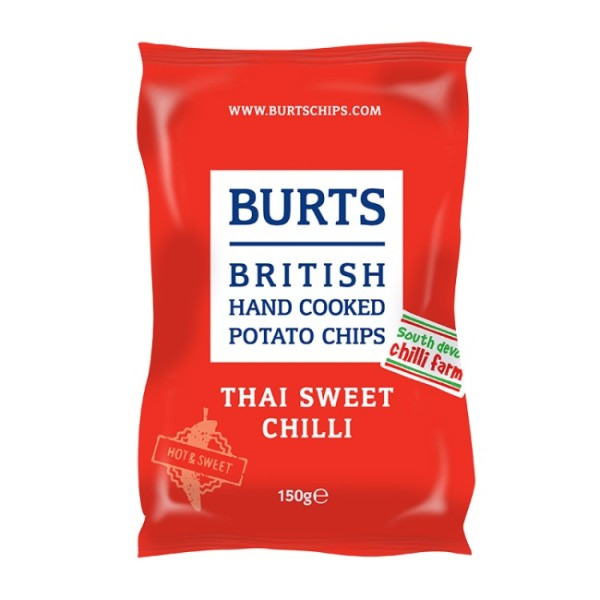 Burts British Potato Chips Thai Sweet Chilli