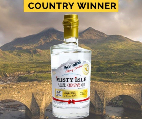 Isle of Skye - Misty Isle Mulled Christmas Gin 41,5% Vol. 700ml